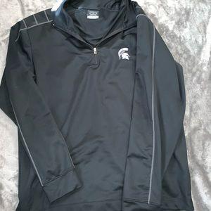 Michigan state Nike golf half zip
